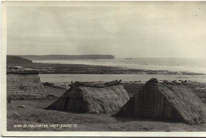 Original Thatched seaweed drying huts